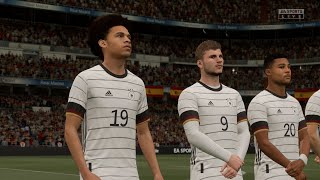 FIFA 21 Spain vs Germany Full 4K Gameplay