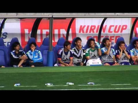 2014-05-27 日本代表戦 vsキプロス(埼スタ) ベンチ5