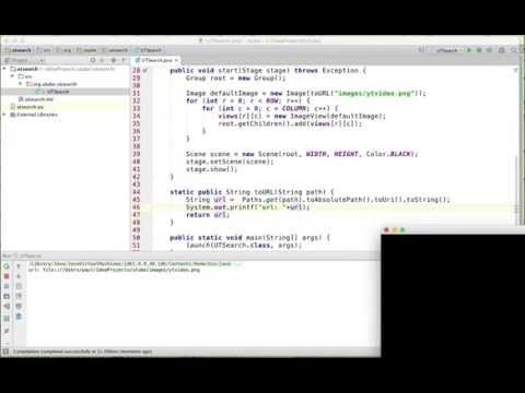 How to create youtube video search application with Java 8