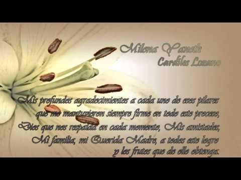 Participacion grado - Milena Cardiles - YouTube