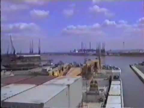 ship docking tilbury dock