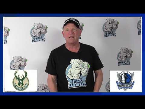 Dallas Mavericks vs Milwaukee Bucks 8/8/20 Free NBA Pick and Prediction NBA Betting Tips