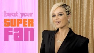 Bebe Rexha Sings Against A Super Rexhar | Beat Your Superfan