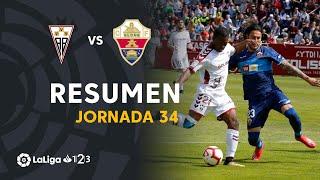 Resumen de Albacete BP vs Elche CF (1-1)