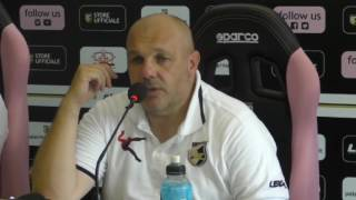 Palermo, Tedino presenta la sfida col Cagliari