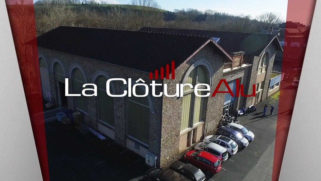 Cloture aluminium le sp cialiste fran ais youtube for Specialiste cloture