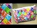 DIY Candy Wrapper Purse