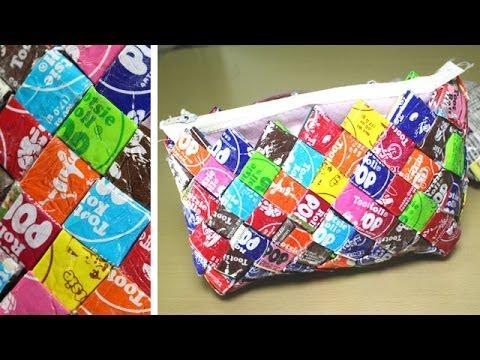 DIY Candy Wrapper Purse