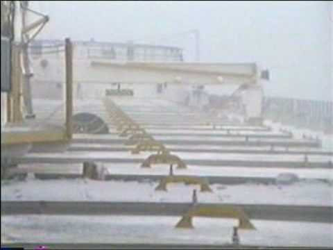 A Gale on Lake Superior December 29th. 1993 aboard the Charles Wilson