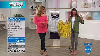 HSN | Daisy Fuentes Fashions 04.06.2018 - 06 PM