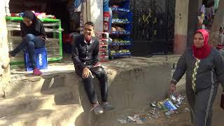 Egypt: Backstreet of Giza  エジプト:ギザの裏通り