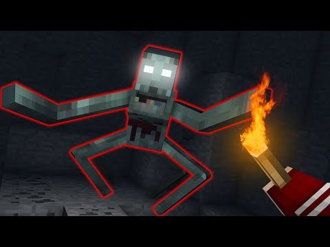 ДОЛГАЯ ТЬМА - Minecraft Сериал - 6 Серия   Пещера Смерти в Горе