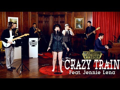 Crazy Train - Ozzy Osbourne (Motown Style Cover) ft. Jennie Lena
