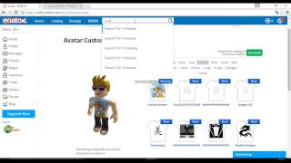How to get clothes on ROBLOX without paying 2016!