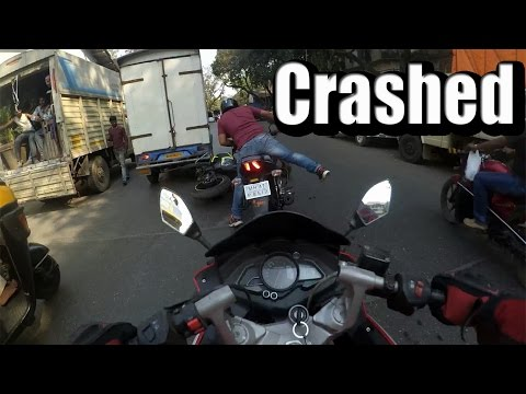Squids recklessly riding on road | crashed | daily observation #6