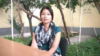 Interning at EFCA-Tajikistan. Yana K. (New York University).
