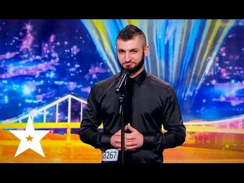 Jaw-dropping illusion on Ukraines got talent