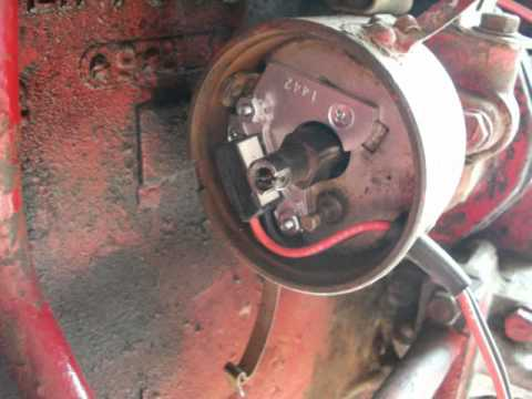 How to install electronic ignition and adjust timing on Farmall Super A  YouTube