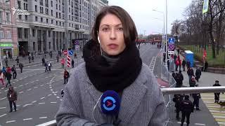 """На марше коммунистов скандируют """"долой президента"""""""