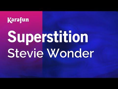 Karaoke Superstition - Stevie Wonder *