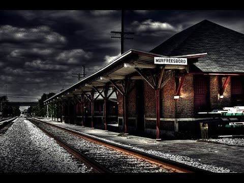 OVERNIGHT CHALLENGE @ HAUNTED TRAIN STATION