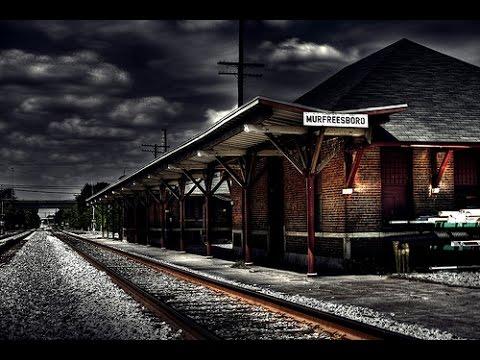 overnight challenge haunted train station omargoshtv