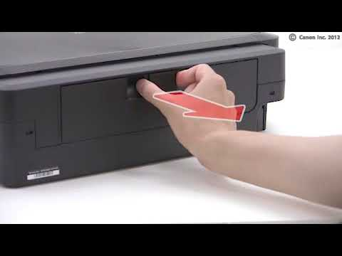 PIXMA iP7270 : Removing paper jam (lower cassette)