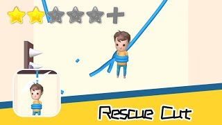 Rescue Cut - Rope Puzzle - MarkApp Co. Ltd - Walkthrough Super Bloody Recommend index two stars