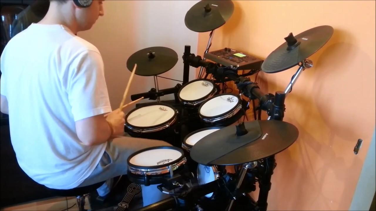 Feel Zostan Ze Mna Perkusja Drum Cover By Xjk Alesis Dm10 Youtube