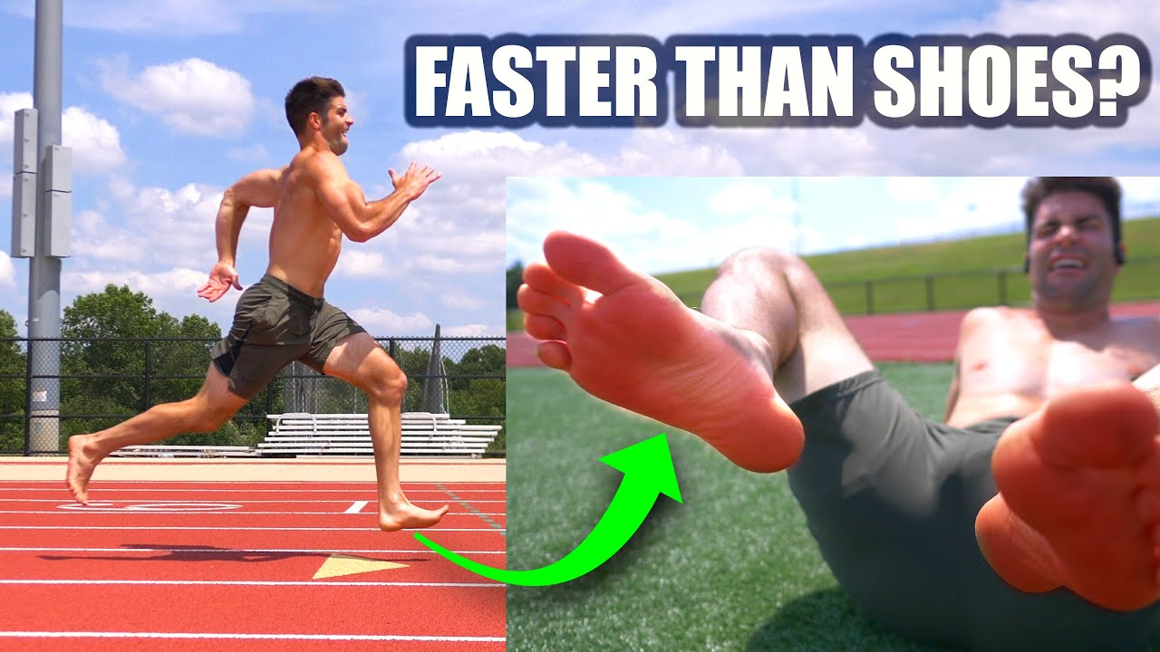 Running an All Out 400M On Track – Barefoot