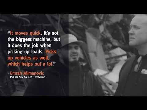 Missouri Auto Salvage Yard Moves Cars With Doosan Excavator