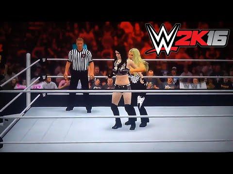 Beth Phoenix Glam Slam To All Women | WWE 2k16 PS3/Xbox 360