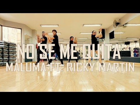 No se me Quita - Maluma ft Ricky Martin - Zumba - Flow Dance Fitness