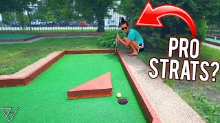 Is This The Best Way To Get A Mini Golf Hole In One?!
