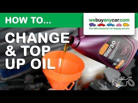 How to Check and Top-Up Oil