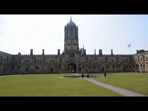 Oxford University Campus Tour - UK