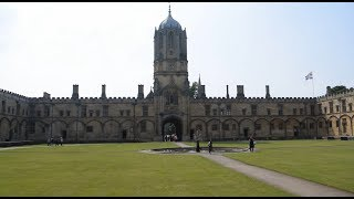 Oxford University Campus Tour - UK