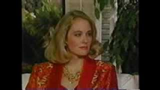 Cybill Shepherd on Barbara Walters