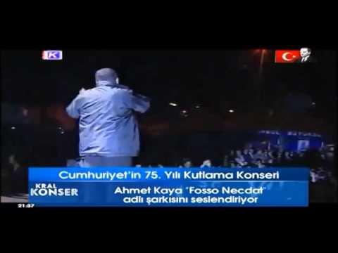 AHMET KAYA ☆ KRAL Tv Efsane Konser (Cumhuriyet'in 75.Yılı)
