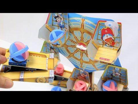 Doraemon DIY Paper Craft Ferris wheel Shooter