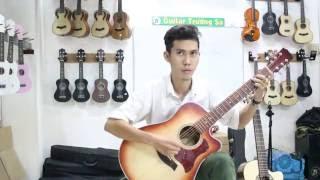 Guitar Trường Sa- Test Guitar Acoustic HD130