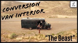 DETAILED LOOK INSIDE OUR EPIC CONVERSION VAN THE BEAST