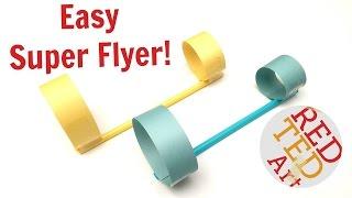 #1 best paper plane - circle paper & straws airplane - diy paper toys (s.t.e.m.)