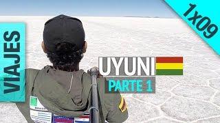 Uyuni #1, Bolivia 1X09 (Salar de Uyuni, Hotel de Sal, Cementerio Trenes, Colchani)