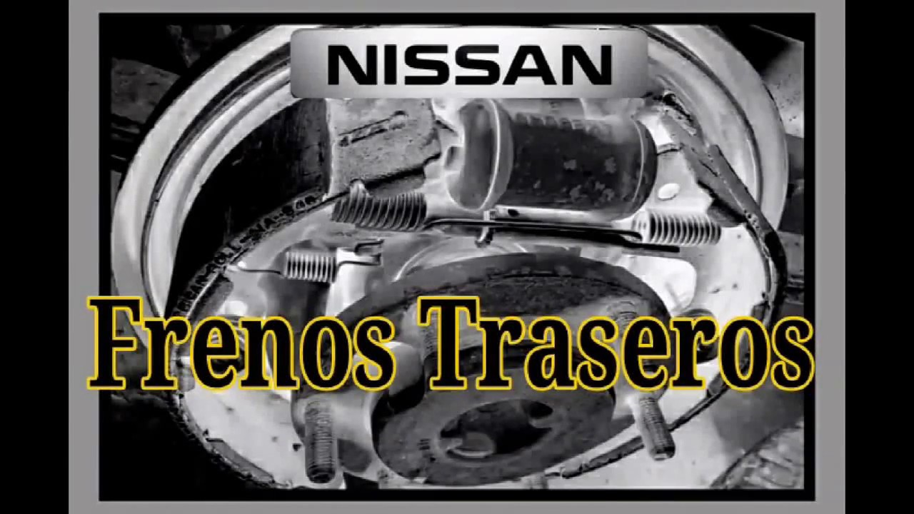 Frenos De Tambor Nissan Pick Up Frontier Youtube