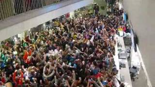 JMU East Campus Library flash mob rave (Complete highlights) 2009