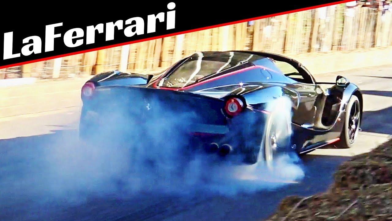 Ferrari LaFerrari Aperta - 800hp V12 Engine + KERS - Exclusive Hypercar in Action & Massive Burn