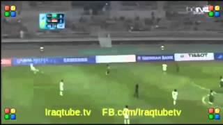 أهداف مباراة العراق و السعودية اليوم 28-9-2014