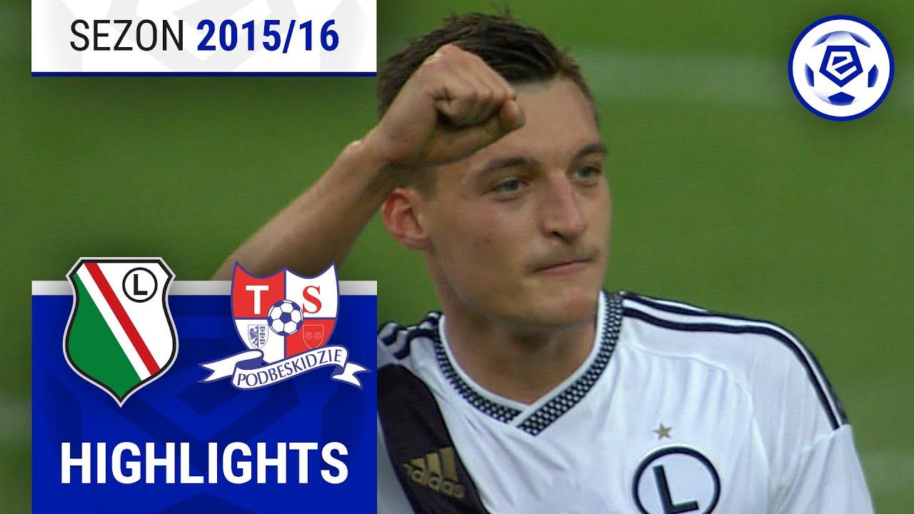 Legia Warszawa - Podbeskidzie Bielsko-Biała 5:0 [skrót] sezon 2015/16 kolejka 02