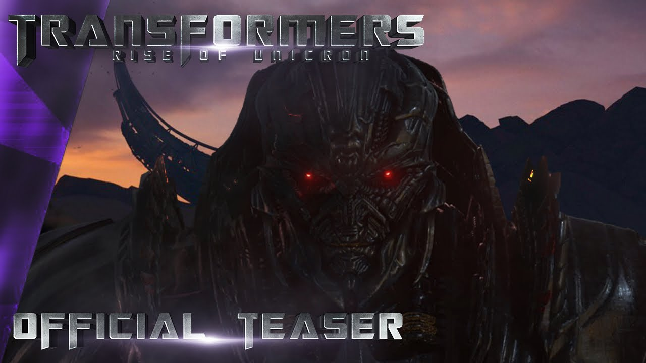 Download Transformers: Rise of Unicron - First Official Teaser Trailer